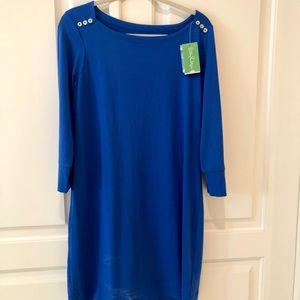 Lilly Pulitzer Sophie Dress NWT Blue L